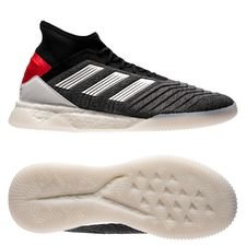 adidas Predator Tango 19.1 Trainer Boost Exhibit - Dark Grey/Metallic Silver/Action Red