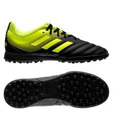 adidas Copa 19.3 TF Exhibit - Zwart/Geel Kinderen