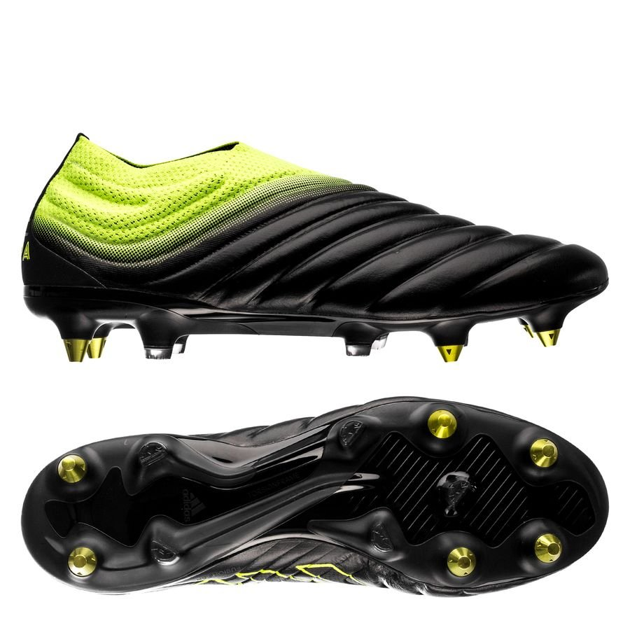the latest 923f8 c5449 adidas copa 19+ sg exhibit - core blacksolar yellow - football boots ...