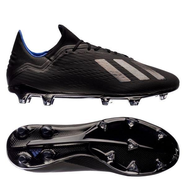 wholesale dealer 17fb9 e369d adidas X 18.2 FG/AG Archetic - Core Black/Bold Blue