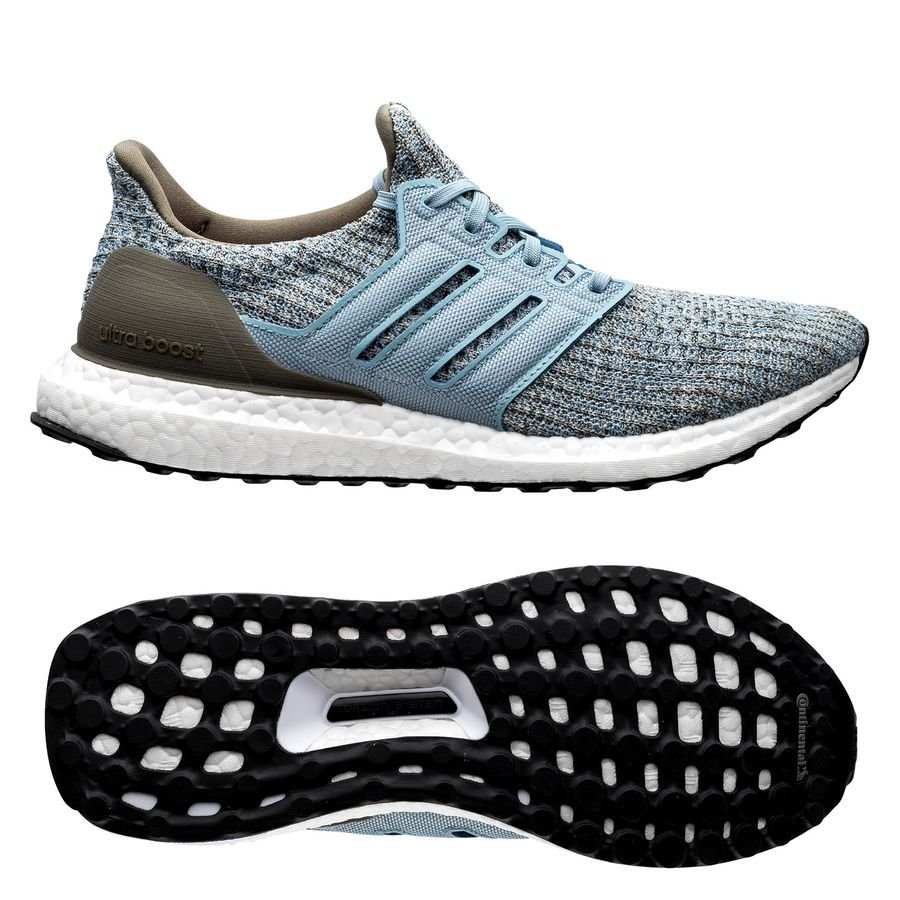 adidas Ultra Boost 4.0 - Hvid/Grøn/Blå Kvinde thumbnail