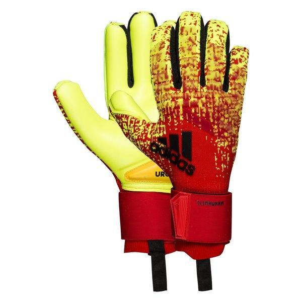 Permanecer de pié juego amistad  adidas Goalkeeper Gloves Predator Climawarm - Solar Yellow/Action Red/Black  | www.unisportstore.com
