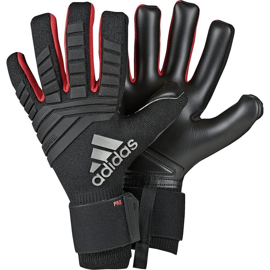 adidas goalkeeper gloves predator pro archetic - black action red - goalkeeper  gloves ... 175a889ee0