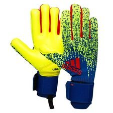 adidas Keepershandschoenen Predator Pro Exhibit - Geel/Blauw/Rood