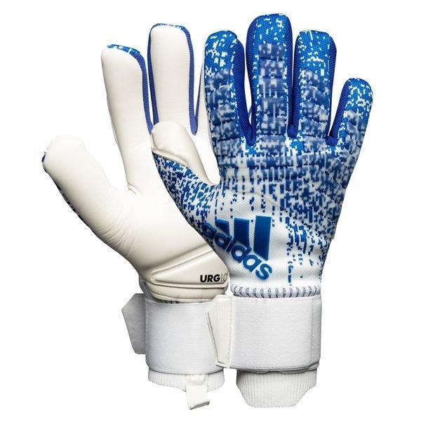 adidas Predator Pro Torwarthandschuhe blau weiß