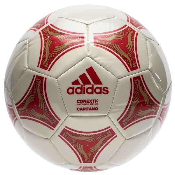 Adidas Fussball Conext 19 Capitano Rot Weiss