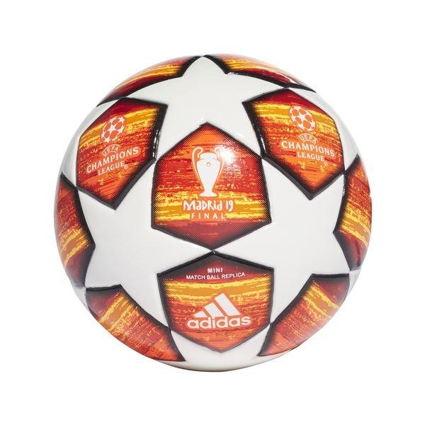 Adidas Fussball Champions League 2019 Finale Mini Weiss Rot