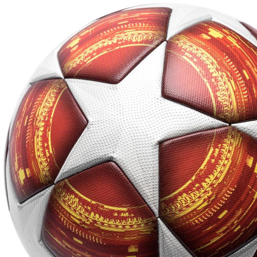 adidas fotboll champions league 2019 finale matchboll - vit röd - fotbollar d5056987f4289