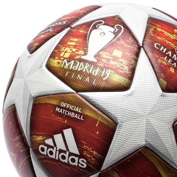 ... adidas fotboll champions league 2019 finale matchboll - vit röd -  fotbollar ... 8ea7398fa4c19
