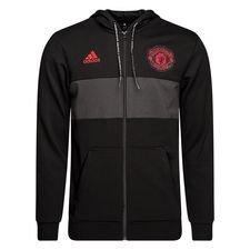 Manchester United Luvtröja FZ - Svart/Röd