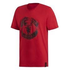 Manchester United T-Shirt Street Graphic - Röd/Svart