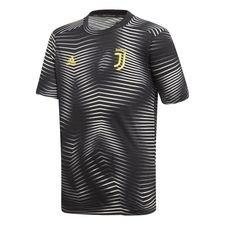 Juventus Trainingsshirt Pre Match Parley - Zwart/Wit Kinderen