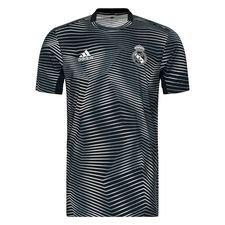 Real Madrid Tränings T-Shirt Pre Match Parley - Grå/Vit Barn