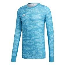 adidas målvaktströja adipro 19 l/ä - ljusblå - fotbollströjor