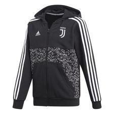 Juventus Luvtröja FZ - Svart/Vit Barn