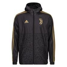 Juventus Windbreaker - Svart/Guld