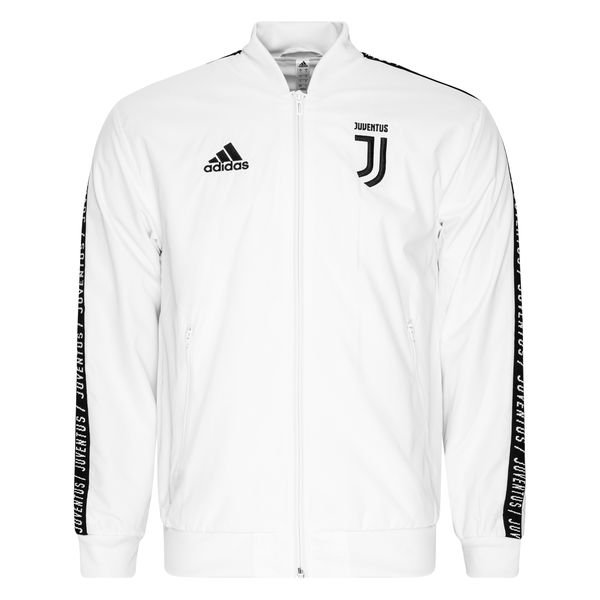 usa cheap sale free delivery hot sale Juventus Jacke Anthem - Weiß/Schwarz
