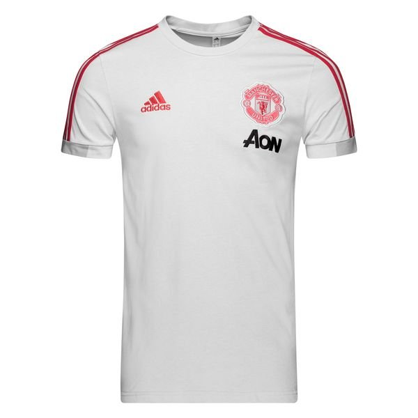 info for 6878c aa02a Manchester United T-Shirt - Clear Grey/Blaze Red