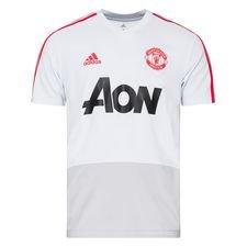 Manchester United Tränings T-Shirt - Grå/Röd