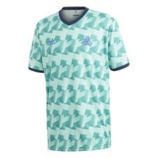 adidas Training T-Shirt Tango AOP Virtuso - True Green/Navy