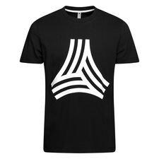 adidas t-shirt graphic tango - sort/hvid - t-shirts