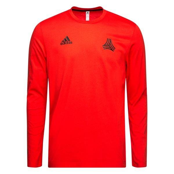 adidas T Shirt Tango Manches Longues RougeNoir