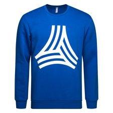 adidas sweatshirt tango graphic - blå/hvid - sweatshirts