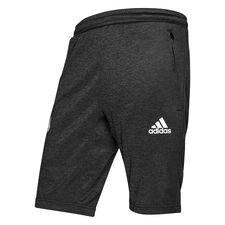 adidas shorts tango - sort/hvid - træningsshorts