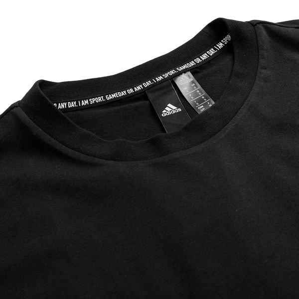 b0e82177 adidas T-Shirt Must Haves Plain - Black/White | www.unisportstore.com