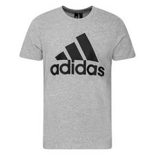 adidas T-Shirt Must Haves - Grau/Schwarz
