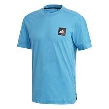adidas t-shirt id 3s - blå - t-shirts