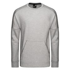 adidas Sweatshirt Crewneck Stadium - Grau/Raw White