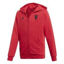 Manchester United Luvtröja FZ - Röd/Svart Barn