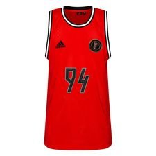adidas Tank Top Paul Pogba Season 5 - Rood/Zwart LIMITED EDITION