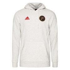adidas Hoodie Paul Pogba Season 5 - White Melange/Action Red LIMITED EDITION