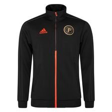 adidas Track Top Paul Pogba Season 5 - Zwart/Rood LIMITED EDITION