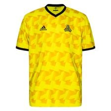adidas Training T-Shirt Tango AOP - Semi Solar Yellow