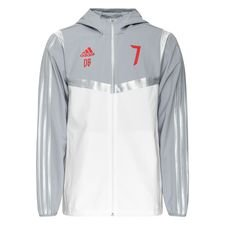 adidas Jacke HD Predator DB Icon - Weiß/Grau/Rot LIMITED EDITION