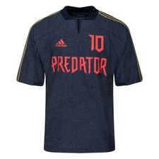 adidas Trænings T-Shirt Predator ZZ Icon - Navy/Rød LIMITED EDITION
