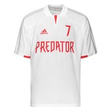 adidas Training T-Shirt Predator DB Icon - White/Clear Grey/Red LIMITED EDITION