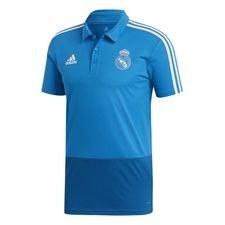 Real Madrid Piké - Blå/Vit