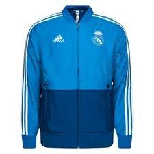 Real Madrid Jacka Presentation - Blå/Vit
