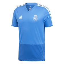 Real Madrid Trainingsshirt - Blauw/Wit Kinderen