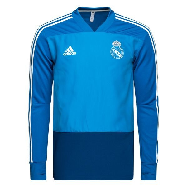 timeless design f0d64 0ca2e Real Madrid Training Shirt - Craft Blue/Core White