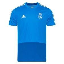 Real Madrid Tränings T-Shirt - Blå/Vit