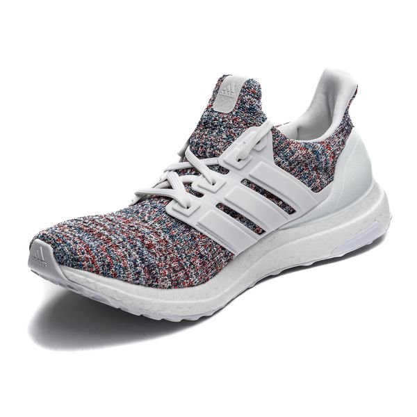... adidas ultra boost 4.0 - cloud white blue kids - running shoes ... aac6c9fd3