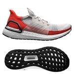 adidas Ultra Boost 19 - Blanc Brut/Blanc/Rouge