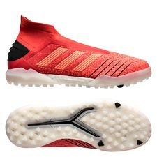 adidas predator tango 19+ tf boost initiator - action red/core black - football boots