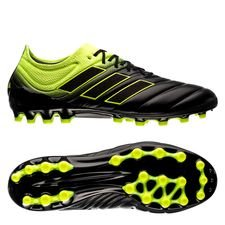adidas Copa 19.1 AG Exhibit - Core Black/Solar Yellow