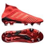 adidas Predator 19+ SG Initiator - Rouge/Noir